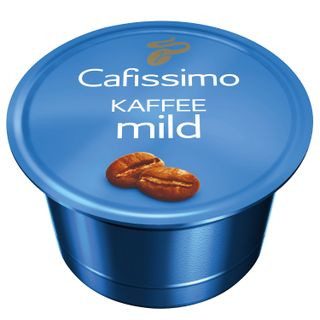 TCHIBO / Capsules for coffee machines Cafissimo Caffe Mild, natural coffee, 10 pcs x 7 g