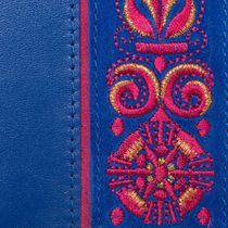 Passport cover leather handmade 'Astrid'