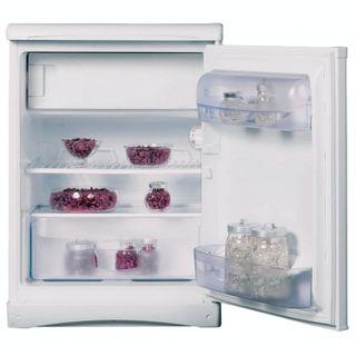 INDESIT TT85 fridge, 122 litres total, 14 litre freezer, 60x62x85cm, white