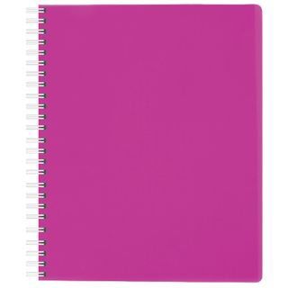 Notebook A5, 80 sheets, HATBER, comb, cage, plastic cover,