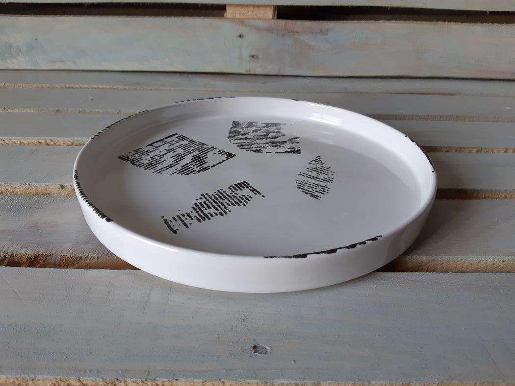 "Horex / Dish ""Gazzetta Bianco"" prateria 28 cm 3 pcs."