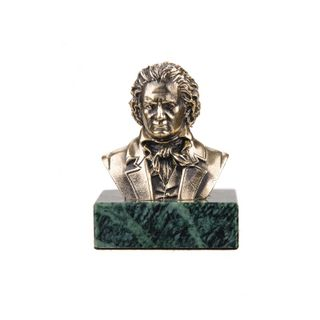 A BUST OF BEETHOVEN
