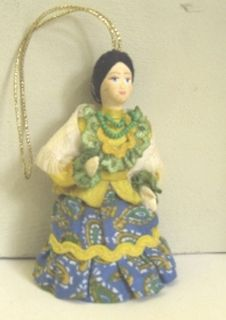 Doll gift. Summer costume of the don Cossacks. The end of the 19th century, Russia.