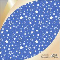 Calico printed No. 555 Stars