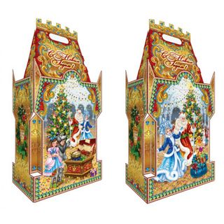 The Golden Castle packaging has a capacity of 2200g.