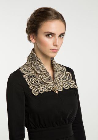 Lace collar-Snood No. 2, Madame Cruje