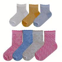 Openwork socks for girls