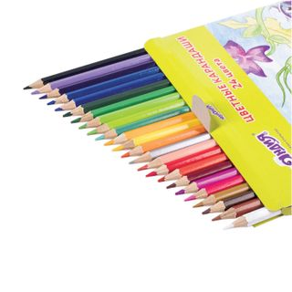 """Pencils colored ONLANDIA """"visiting INSECTS"""", 24 colors, classic sharpened"""