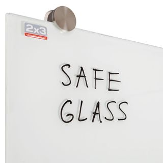 Board magnetic marker glass (60x80 cm), WHITE, OFFICE,