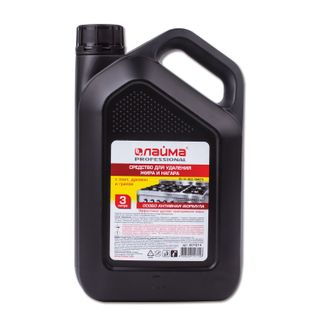"""Means for cleaning stoves, ovens, grills from fat / carbon deposits ANTI-FAT LIME (analogue """"Shumanit"""") 3 l"""