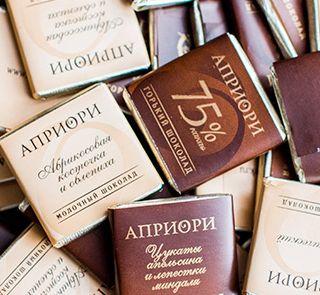 APRIORI 72G GORK CHOCOLATE 75% COCOA
