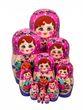 10 non-traditional matryoshka dolls - view 1