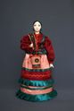 Doll gift porcelain. The water-bearer-Cossack - view 1