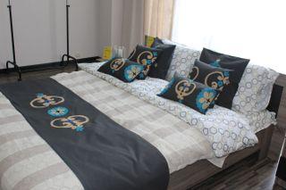 LA`AL Textiles / Bed runner - gray (c)