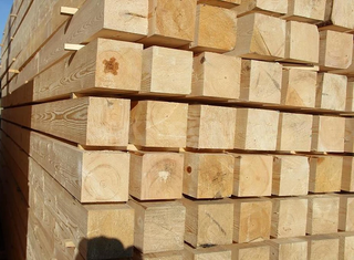 LUMBER from pine, birch, aspen and oak