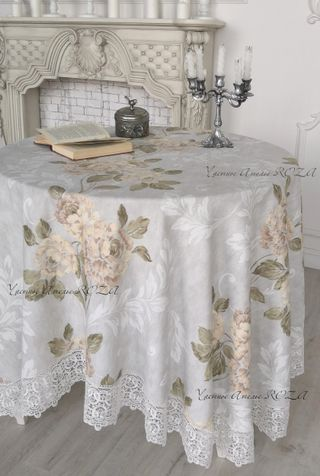 Tablecloth with lace Verona