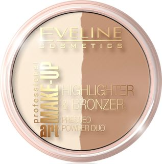 Bronzing-powder rassvetnaya - glam dark n 57 series art professional make-up, Eveline