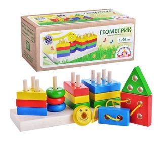 Krasnokamsk toy / Geometrics set