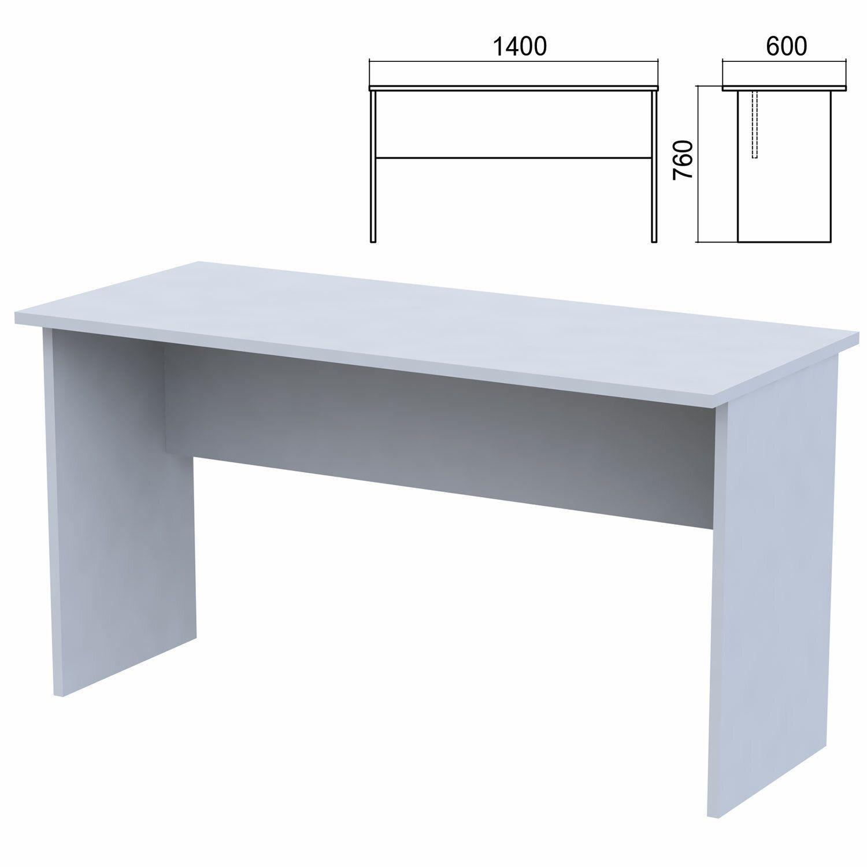 "Table written ""Argo,"" 1400 x600 x760 mm, grey"