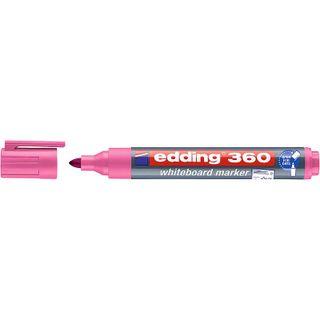 Edding / Whiteboard marker, round nib, 1.5-3mm Pink