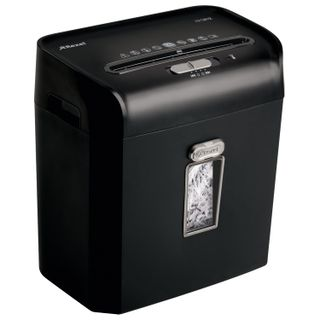 Shredder (shredder) REXEL PROMAX RPS812 (USA), 1-3 persons, 2 security level, 6 mm strips, 8 sheets, 12 l