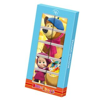 "Chocolate puzzle ""Masha and the Bear"" 50 g"