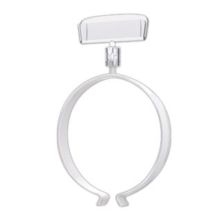 The price stripes on the sausage RING CLIP set 10 PCs., width 50 mm, diameter of 80-140 mm