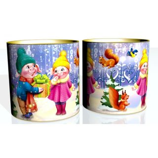 """New Year's gift Tuba """"Gift"""", a set of sweets 450g."""