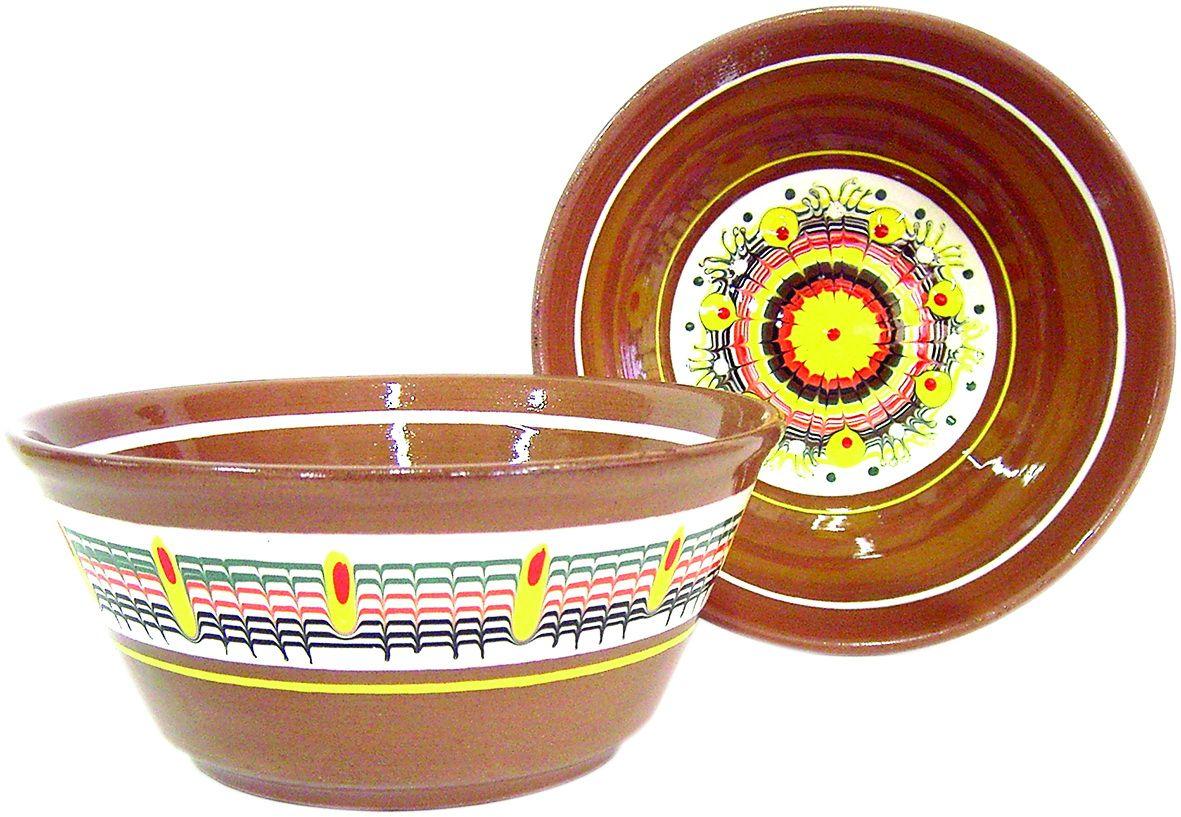 """Tarusa artist / Salad bowl """"Plots / Fruits"""", 1l"""