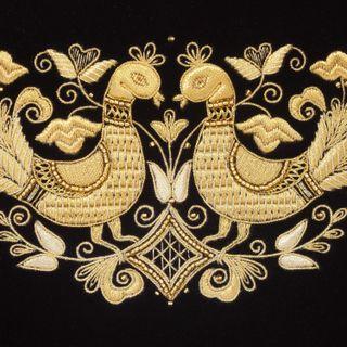 Velvet Bird Bag