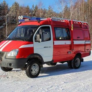 Multifunctional first aid car with a NATISK system based on GAZ APP-0.3-2.0-NATISK (27057)