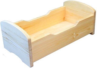 Furniture for dolls wooden - developing toy (handmade)