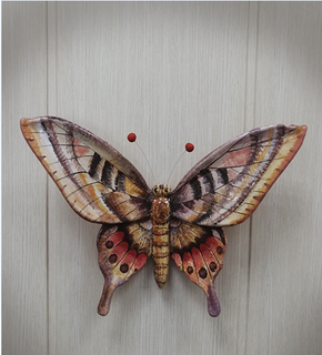 Large butterfly # 2 - a product of ceramics in engineering of the Yaroslavl majolica