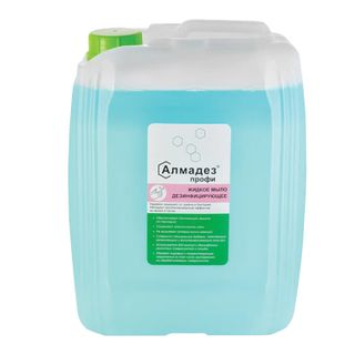 ALMADEZ / Liquid disinfectant soap PROFI with prolonged antimicrobial effect, 5 l