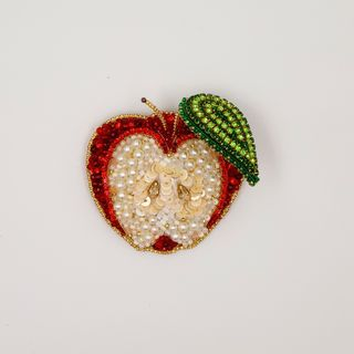 "Brooch handmade ""Apple"""