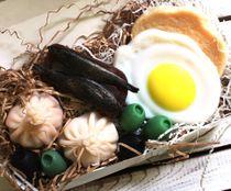 Royal breakfast handmade soap set