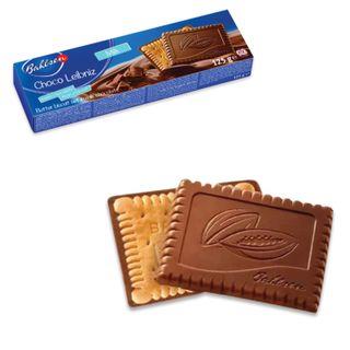 "BAHLSEN / Cookies ""Choco Leibniz Milk"", creamy in milk chocolate, 125 g, Germany"