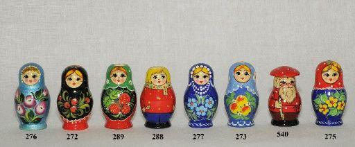 """Vyatka souvenir / Matryoshka """"Anyuta"""""""