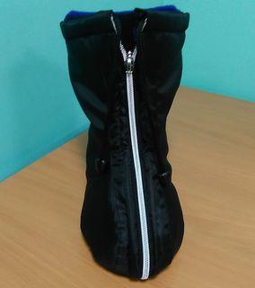 Warm plaster / splint case with closed foot