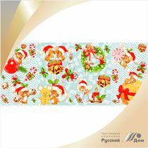Canvas waffle No. 748 Christmas fun