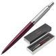 Ballpoint pen PARKER 'Jotter Core Portobello CT Purple', body purple, chrome, blue - view 1