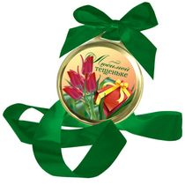 Chocolate medal 'Beloved thesenike'