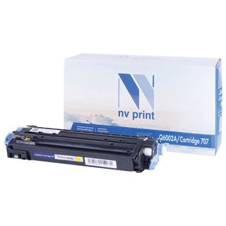 Laser cartridge NV PRINT (NV-Q6002A) for HP ColorLaserJet CM1015 / 2600, yellow, yield 2000 pages