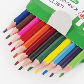 """Crayons PYTHAGORAS """"CASTLE"""", 12 colors, plastic, classic sharpened"""