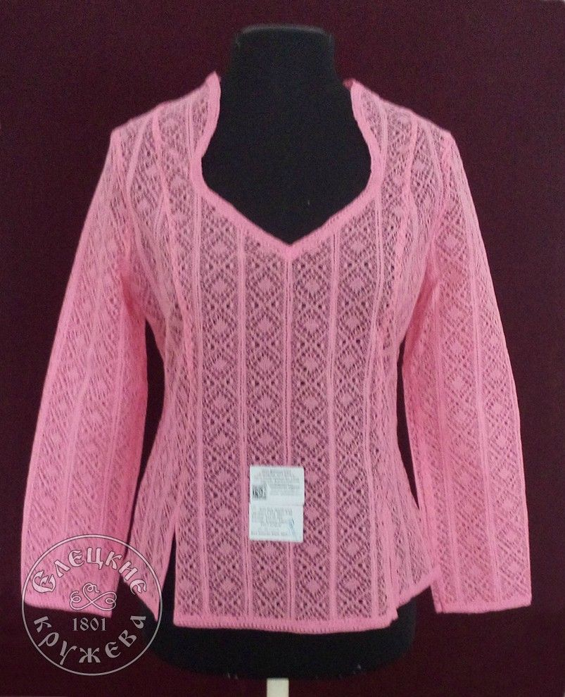 Yelets lace / Women's lace blouse С472
