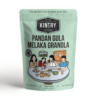 Kintry Pandan Sugar Melaka Granola