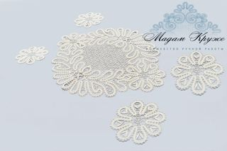 Set napkins