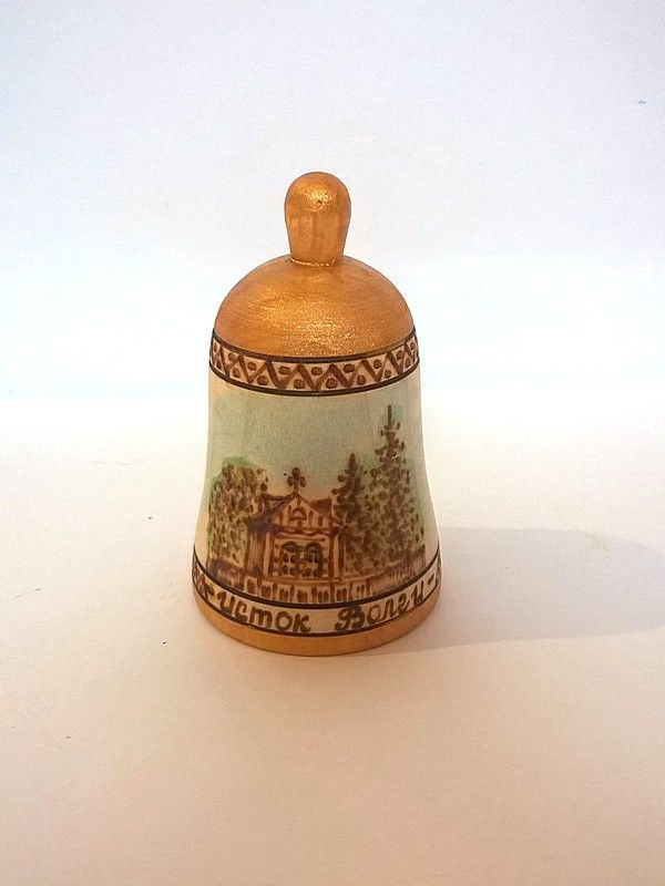 """Tver souvenirs / Bell """"Source of the Volga"""""""