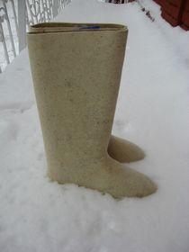 Natural felt boots  'Kukarsky' for men