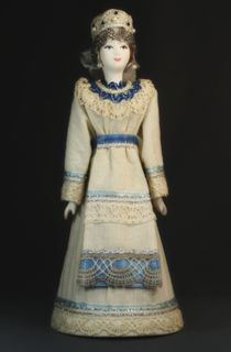 Doll gift. Vologzhanka. Russian